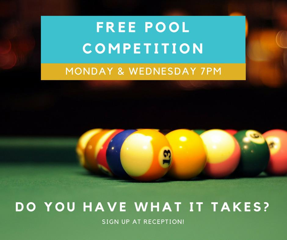 Hotel Waterloo Bar and Cafe Pool Comp
